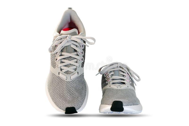 Mode e scarpe da corsa isolate immagine stock libera da diritti