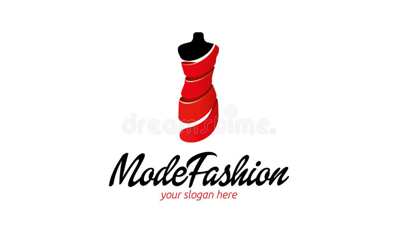 Mode Fashion Logo vector illustration
