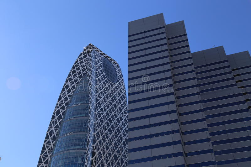 Mode Gakuen Cocoon Tower. Is a 204-metre (669 ft), 50-story educational facility located in the Nishi-Shinjuku district in Shinjuku, Tokyo, Japan. The building stock photos