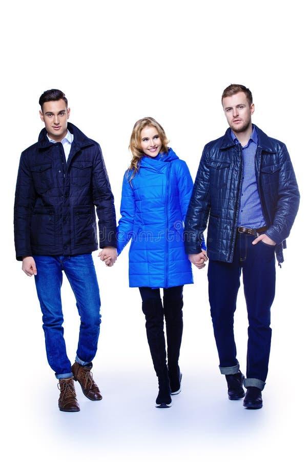 Mode geschossen für Winter lizenzfreie stockbilder