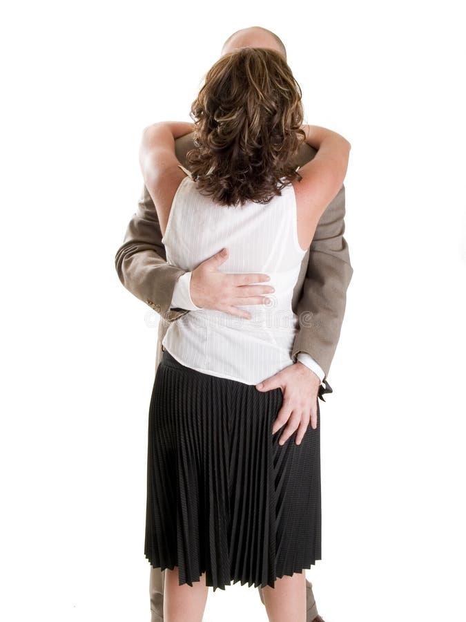 Mode - hommes - harcèlement sexuel de femme d'affaires images libres de droits