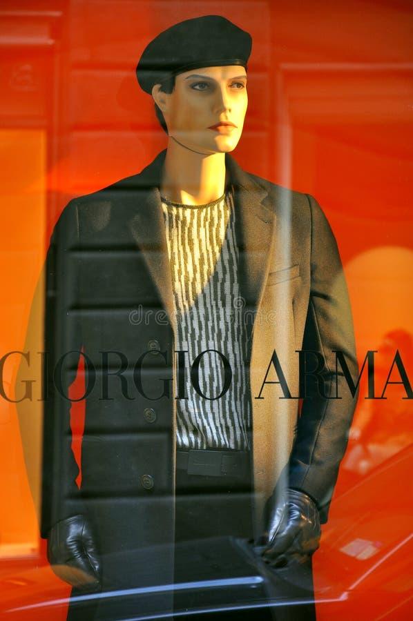 Mode italienne 2011 d'hommes image libre de droits