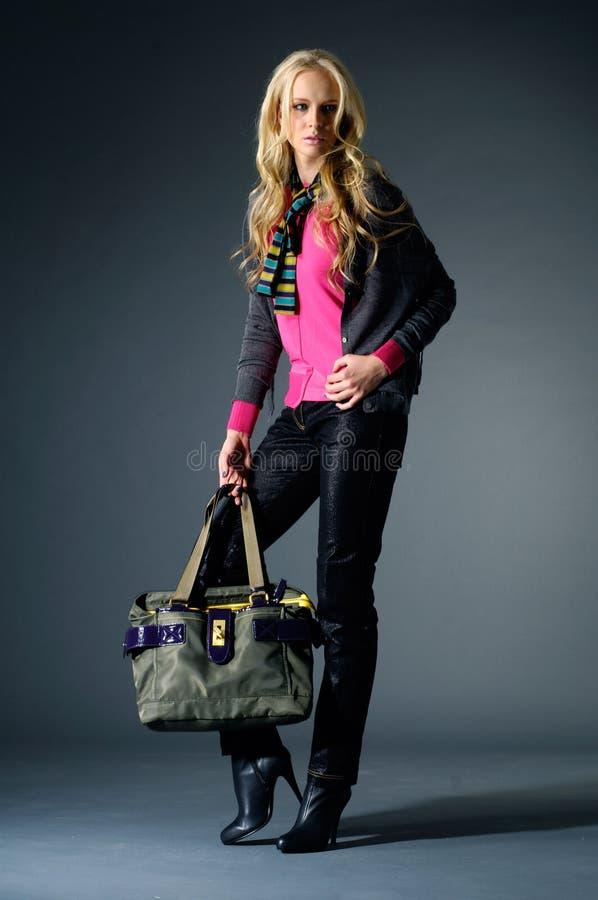 Mode-Modell lizenzfreies stockbild
