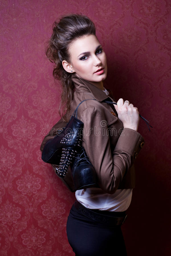 Mode-Modell lizenzfreies stockfoto