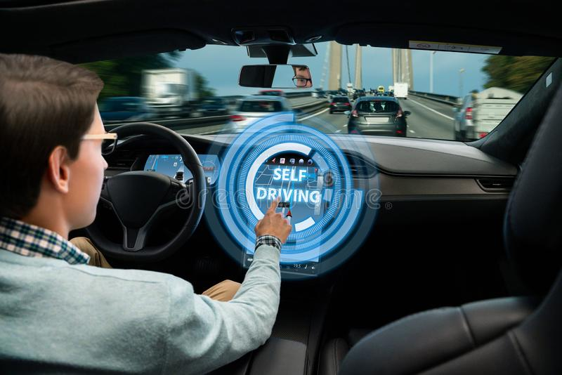 Mode moteur autonome photos libres de droits