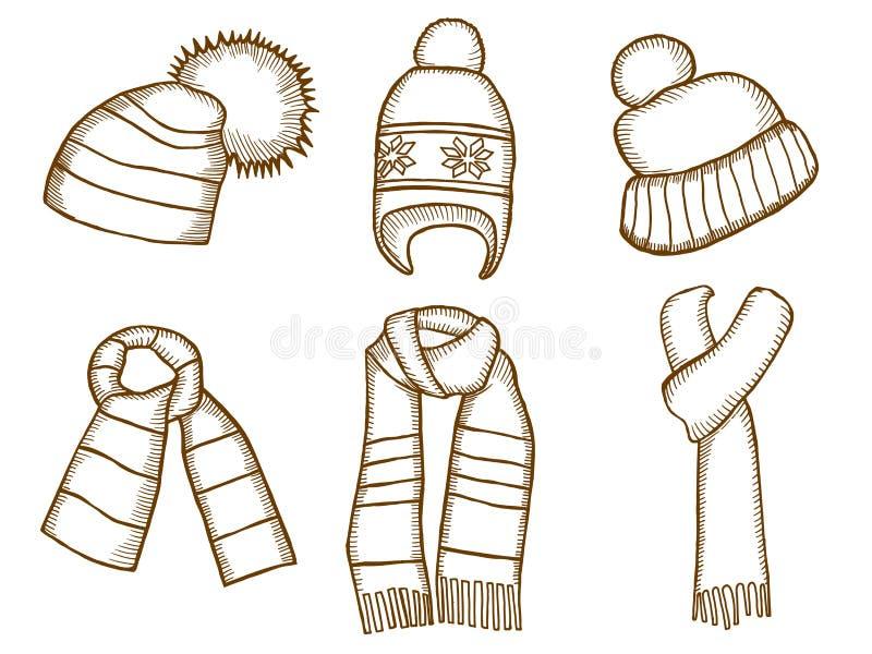 Mode och skönhet Jultomtenstrumpalock royaltyfri illustrationer