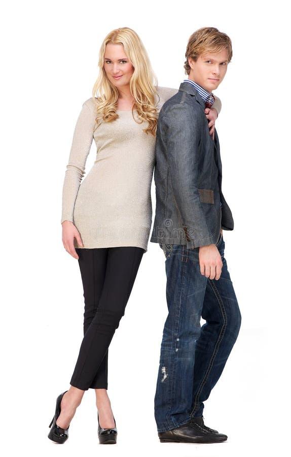 Mode-Paare stockfoto