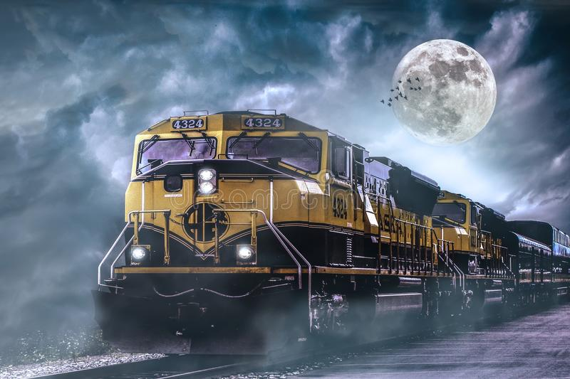 Mode Of Transport, Transport, Sky, Locomotive royalty free stock images