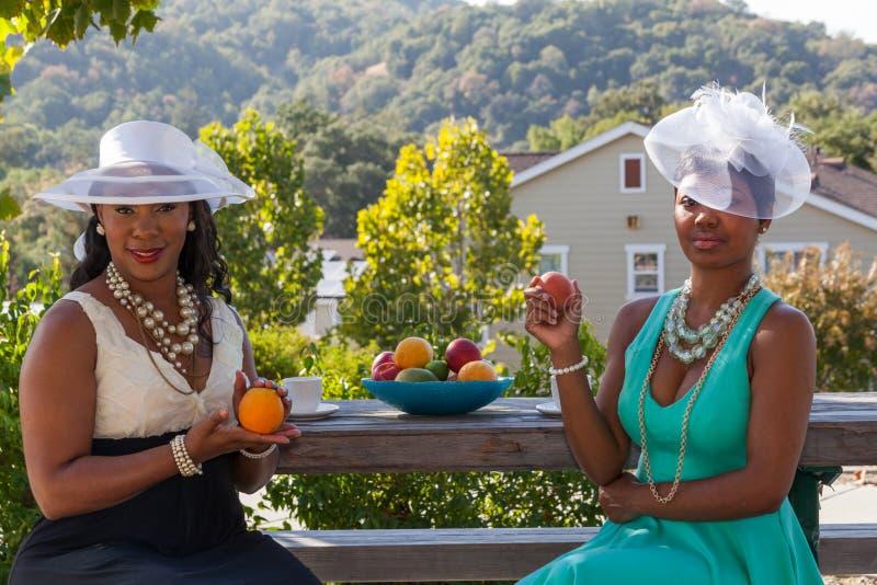 Mode und Früchte lizenzfreie stockbilder