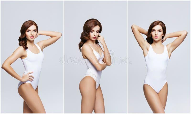 Mode- und Schönheitskonzept lizenzfreie stockbilder