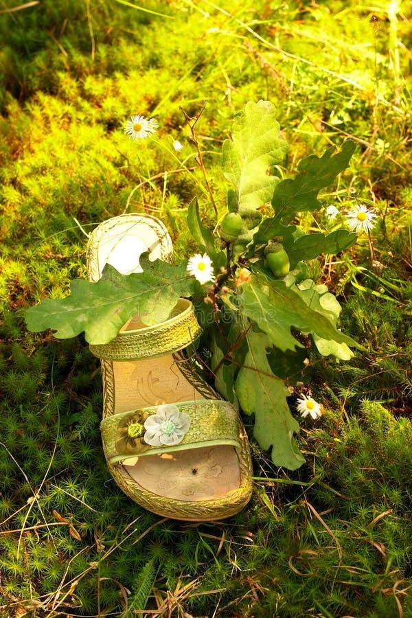 Mode verte de nature. photographie stock libre de droits