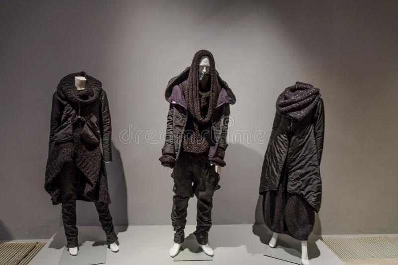 Modeausstellung in Zagreb, Kroatien lizenzfreie stockfotografie