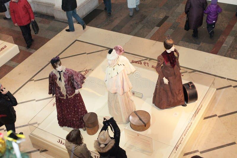 Modeausstellungsmannequins stockfoto