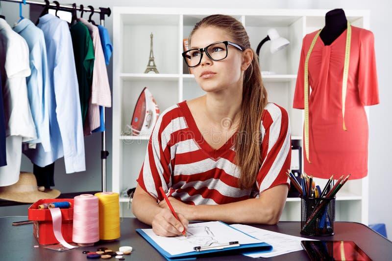 Modeformgivare royaltyfri bild