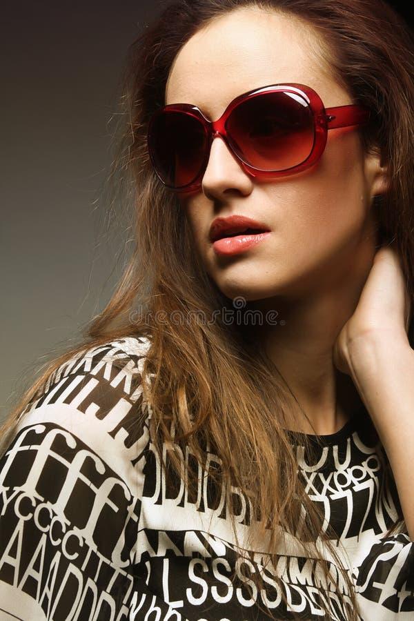 Modefrau stockfotos