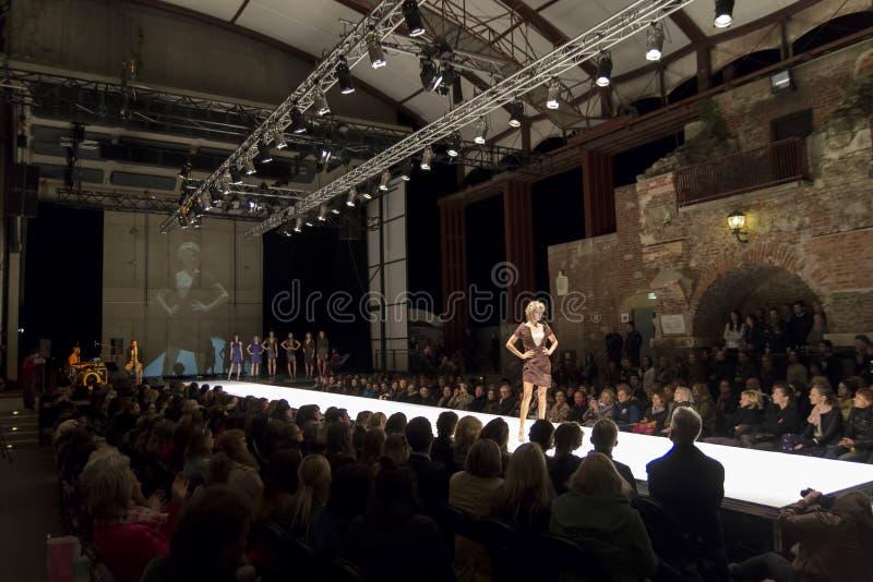 Modehändelse i Graz arkivfoton