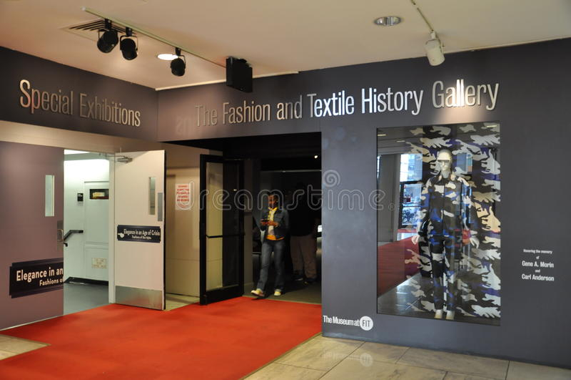 Modeinstitut av teknologi i New York City arkivbilder