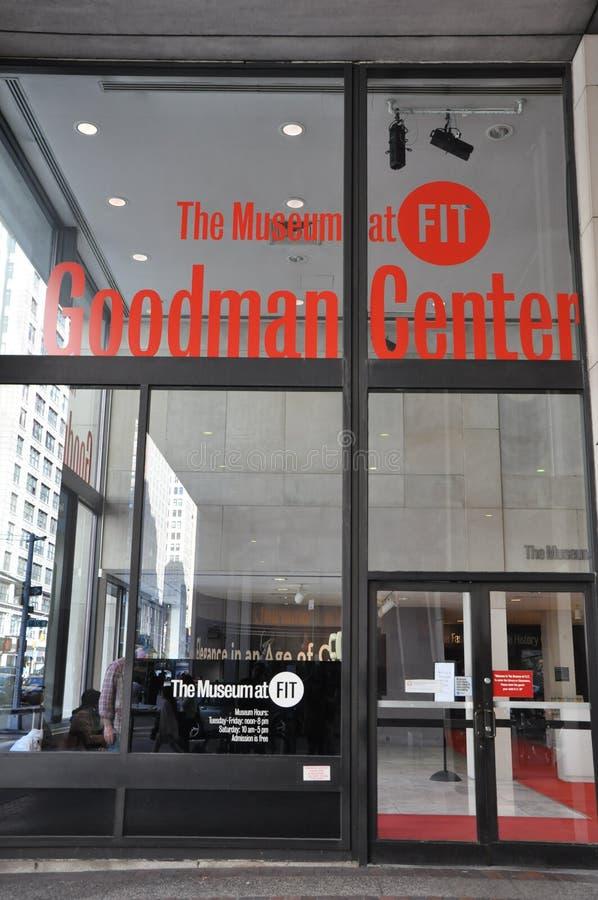 Modeinstitut av teknologi i New York City royaltyfri foto
