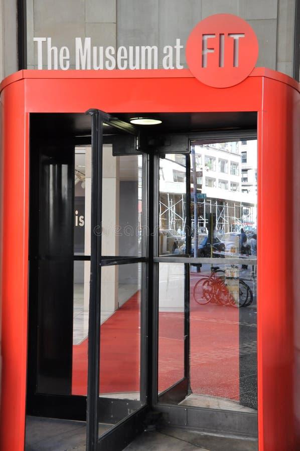 Modeinstitut av teknologi i New York City arkivfoton