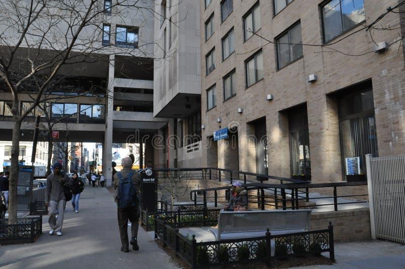 Modeinstitut av teknologi i New York City royaltyfria foton