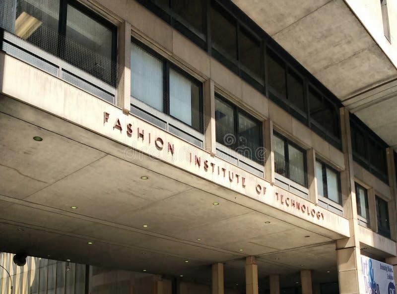 Modeinstitut av teknologi (PASSFORM), New York City, USA arkivbild