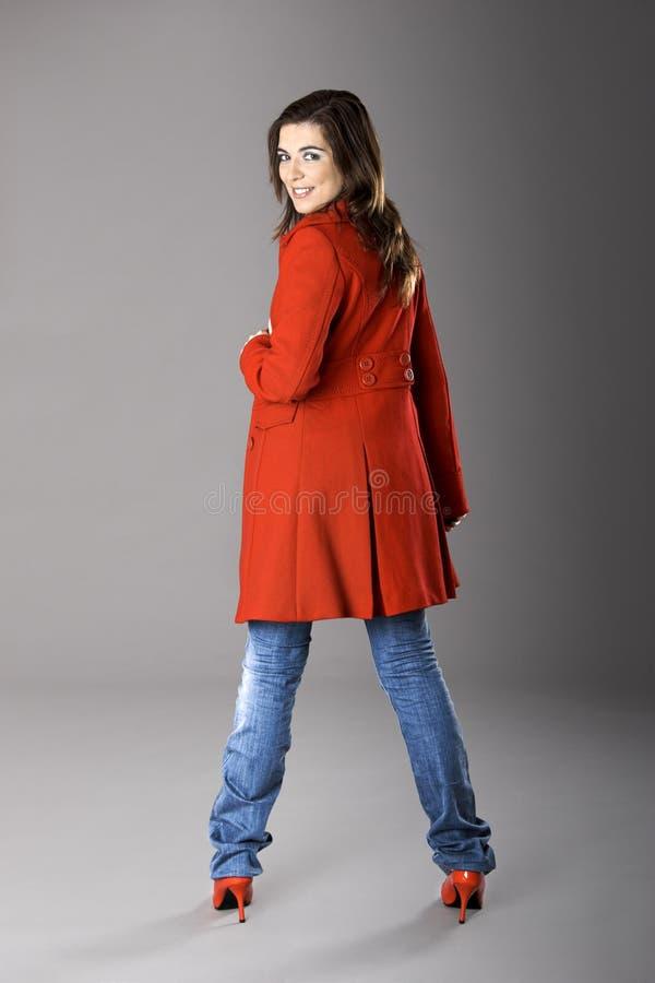 modekvinna fotografering för bildbyråer