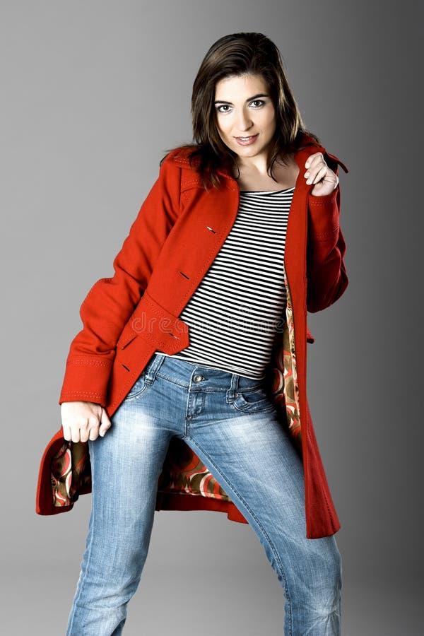modekvinna arkivfoton