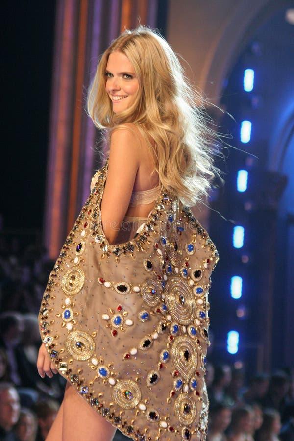Model At The 12th Annual Victorias Secret Fashion Show. Kodak Theatre, Hollywood, CA. 11-15-07 Editorial Photo