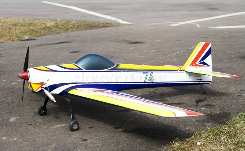 Model 3 d'aéronefs photographie stock