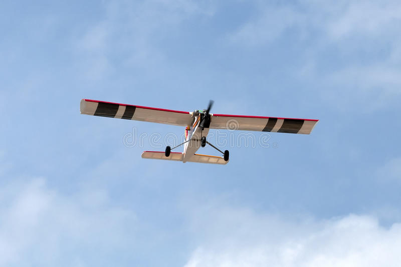 Download Model Airplane Stunt Plane Spinning Stock Photo - Image: 83718561