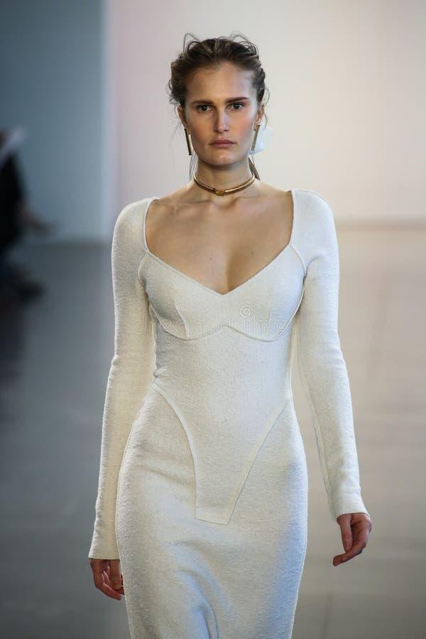Free Model Alla Kostromichova Walks The Runway For Bevza During New York Fashion Week Royalty Free Stock Photos - 124579698