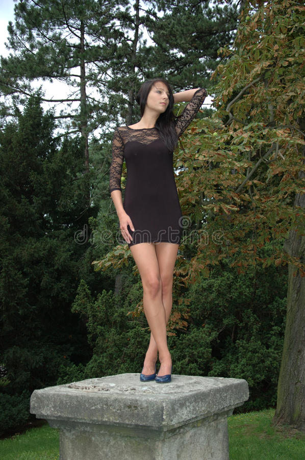 Free Model As Statue Royalty Free Stock Photos - 20927928