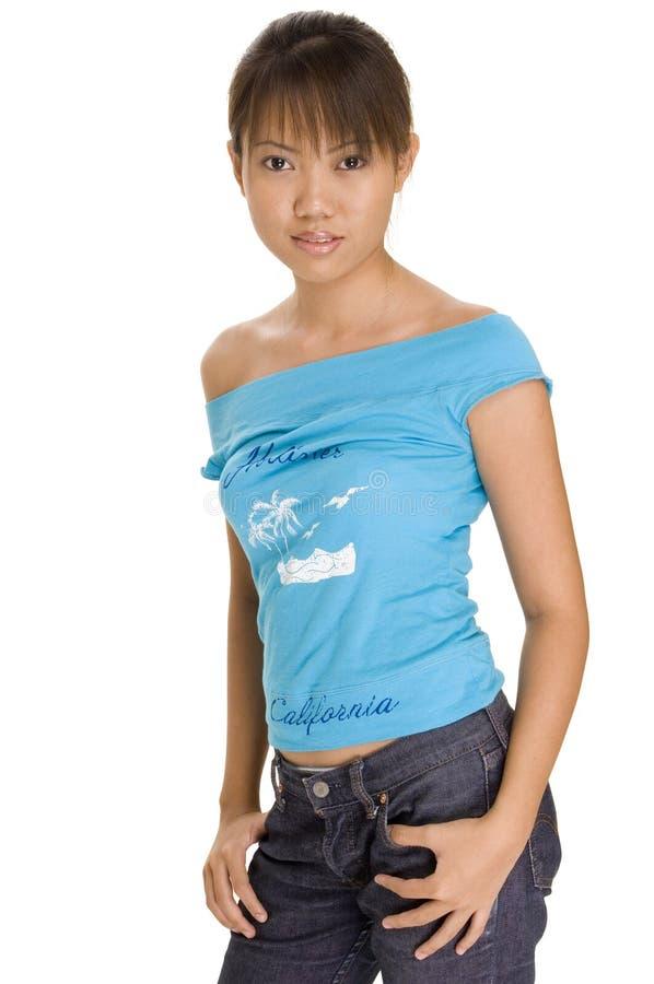 Model asiatique 1 photographie stock libre de droits