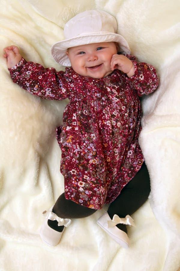 Model baby royalty-vrije stock foto's