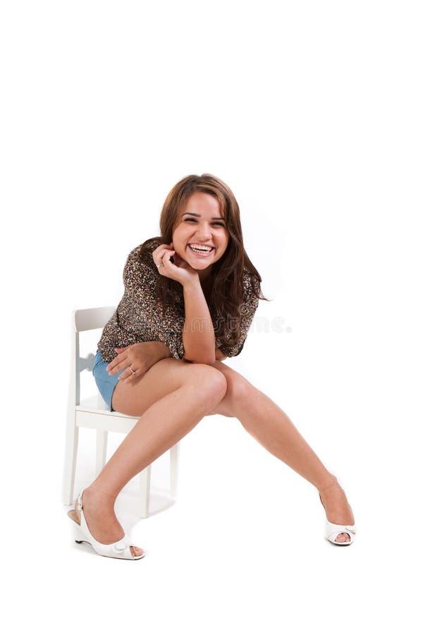 model barn för kvinnlig royaltyfri bild