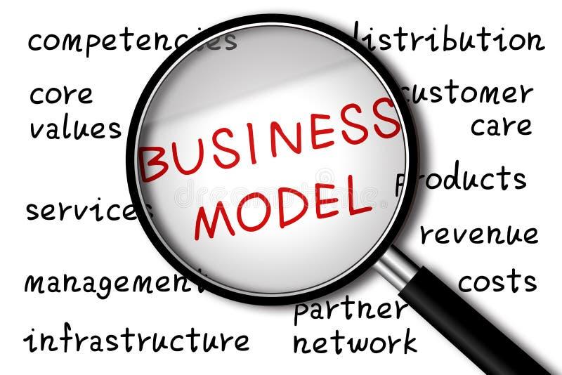Model biznesu royalty ilustracja