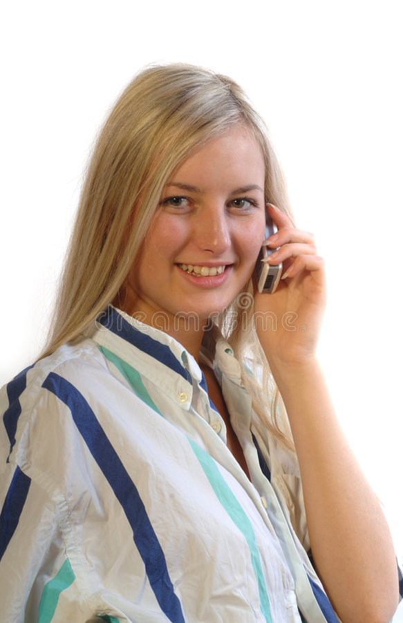 Model call royalty free stock photo