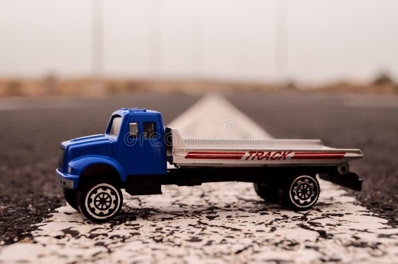 Model ciężarówka obraz royalty free