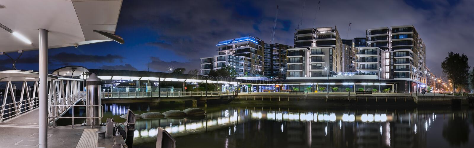 Wentworth Point Contemporary Living stock images