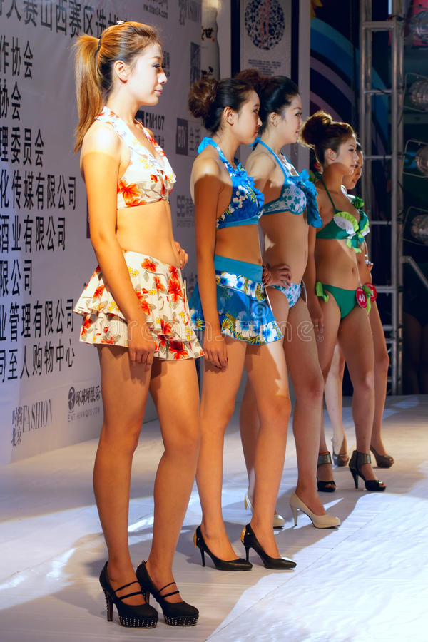 Download Model contest editorial photo. Image of swimsuit, models - 21109491