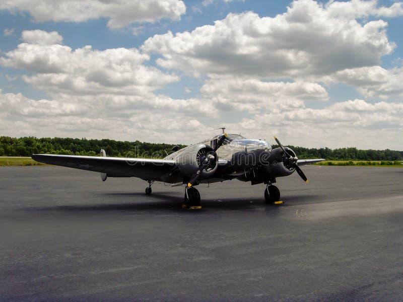 Model 18 de Beechcraft photos stock
