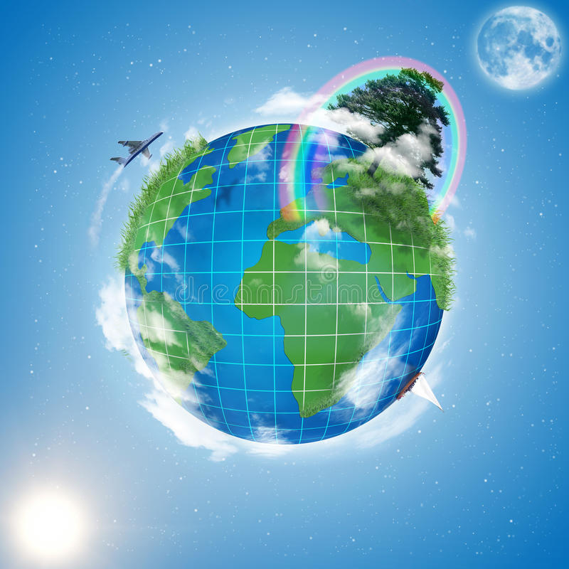 Model of Earth royalty free stock image