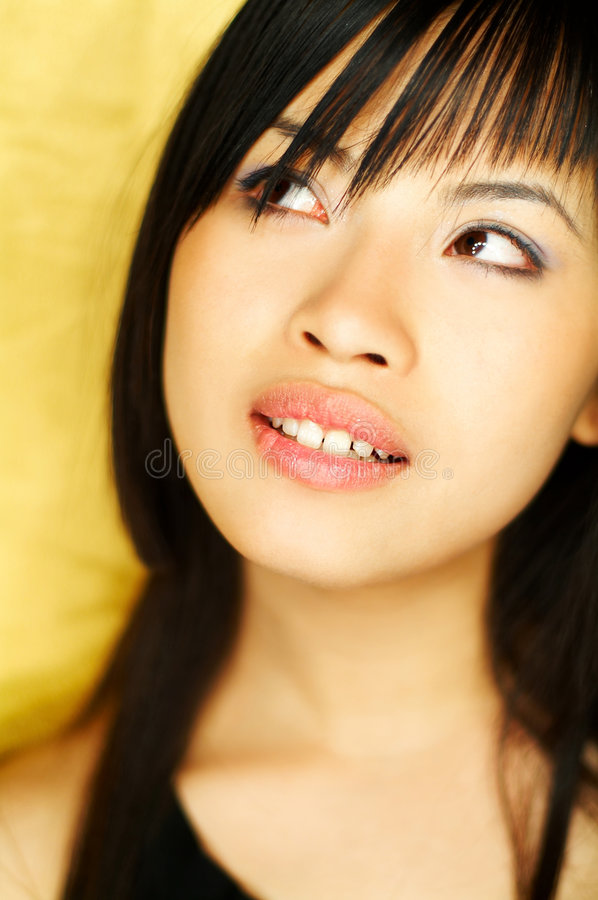 Download Model Expressions Royalty Free Stock Photography - Image: 708117