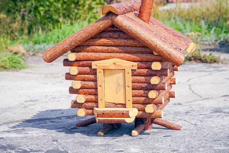 Model fabulous hut on chicken legs stock photography