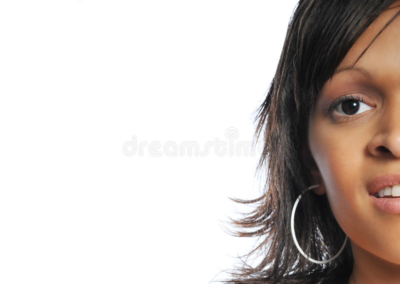 Model face royalty free stock images