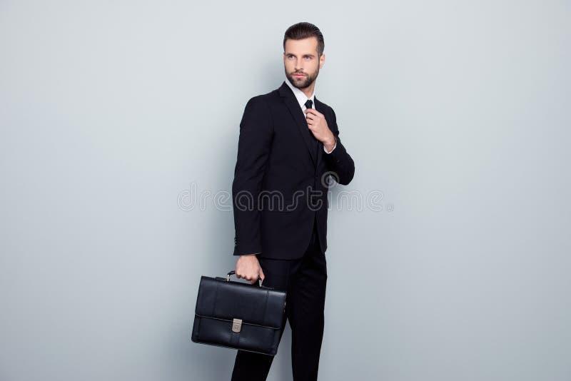 Model fashion hurry go bank salesman financier employee office c stock images