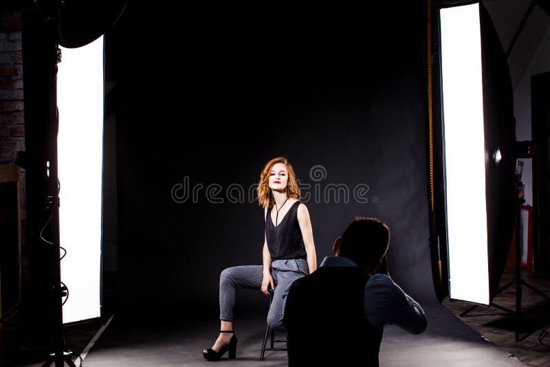 model fotograf fotografering för bildbyråer