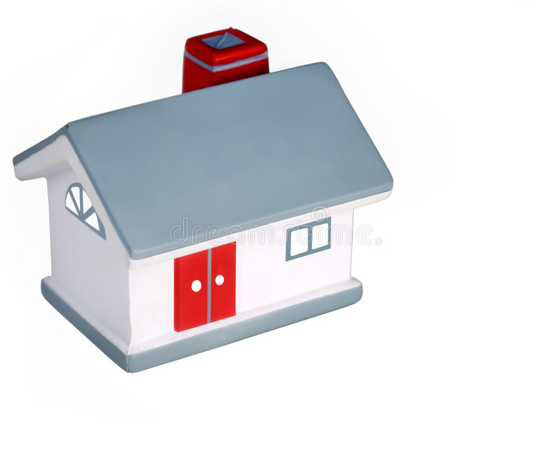 Model of a generic home stock photos
