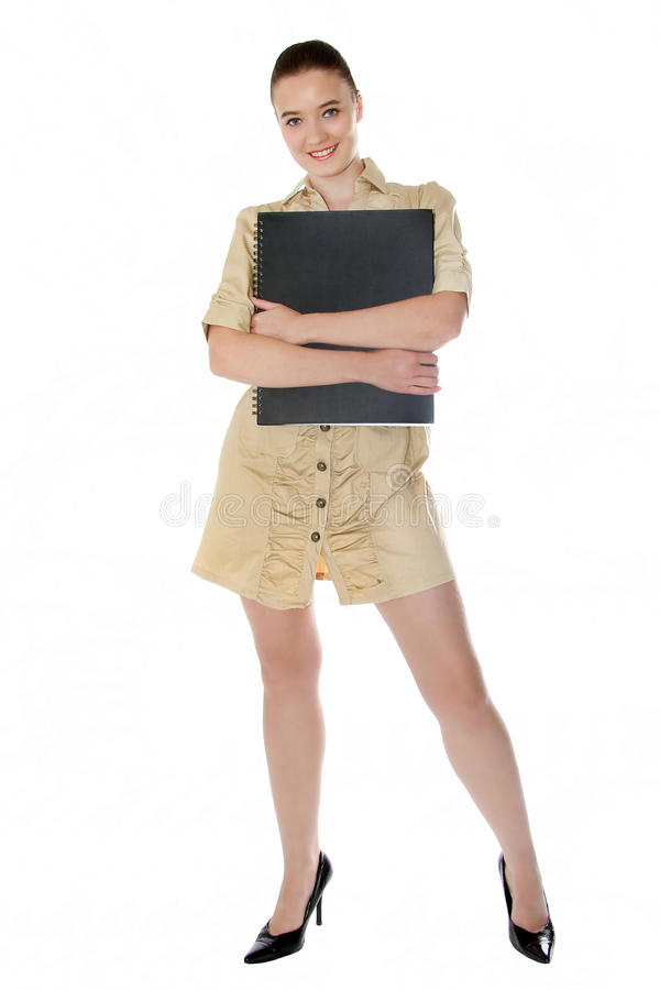 Model on a go see royalty free stock photos