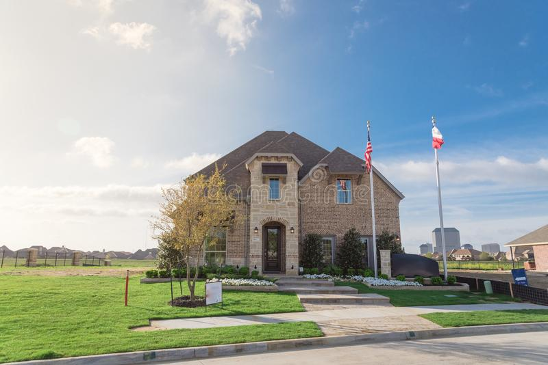 Model home and construction office in irving texas usa stock photo download model home and construction office in irving texas usa stock photo image malvernweather Choice Image